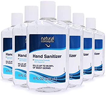 6-Pack Natural Concepts Hand Sanitizer Gel, 8 oz