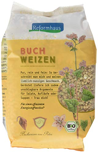 Reformhaus Buchweizen ganz Bio, 6er Pack (6 x 500 g)