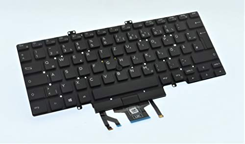Dell Replacement Keyboard For Dell Latitude 5400, Latitude 5401, Latitude 5410 GERMAN Backlit Dual Point Keyboard 7XH1W