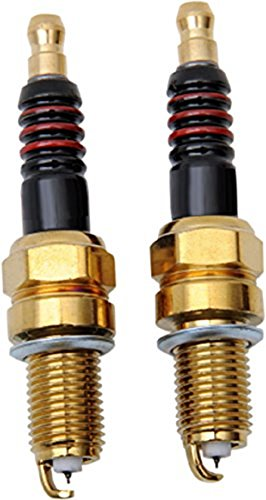 Iridium Performance Spark Plugs Pair for Harley Softail Slim Twin Cam repl. Harley# 6R12