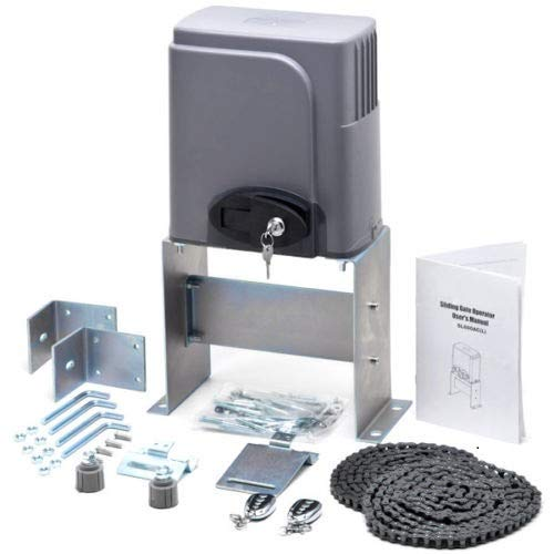 CO-Z Automatic Sliding Gate Opener Hardware Sliding Driveway Security Kit (Sliding Gate Opener) (Renewed)