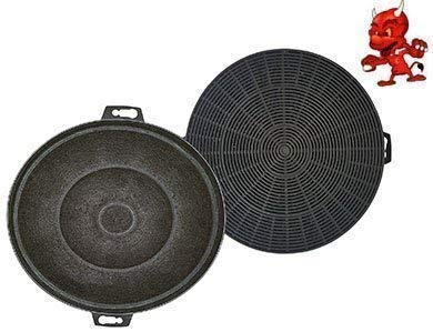 Filtre à charbon actif Filtre Filtre à charbon pour hotte Hotte Bosch dke935agb04, dke935agb05