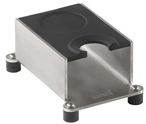 Tamping Station Silicone Black, Solid Tamper Stand