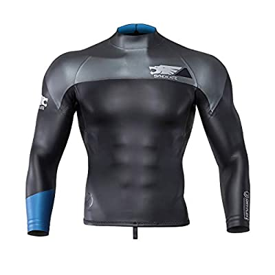 HO Syndicate Dry-Flex L/S Top Mens Wetsuit