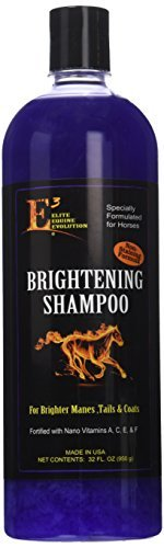 E3 Elite Brightening Shampoo for Pets, 32 oz. by E3 Elite
