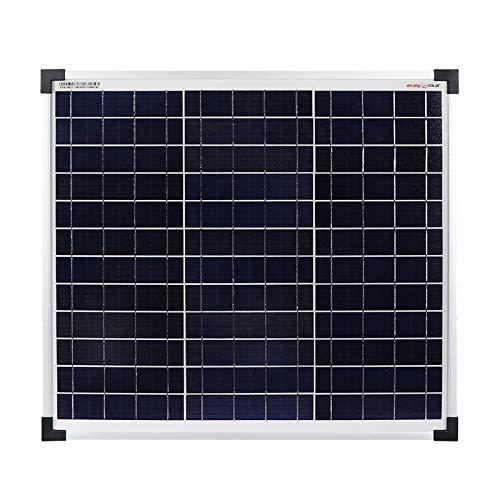 Enjoysolar Polycrystalline 30Watt 12V Panel solar Panel solar Poly 30W ideal para el jardín Camper Caravan