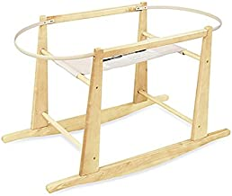 baby bassinet basket with stand