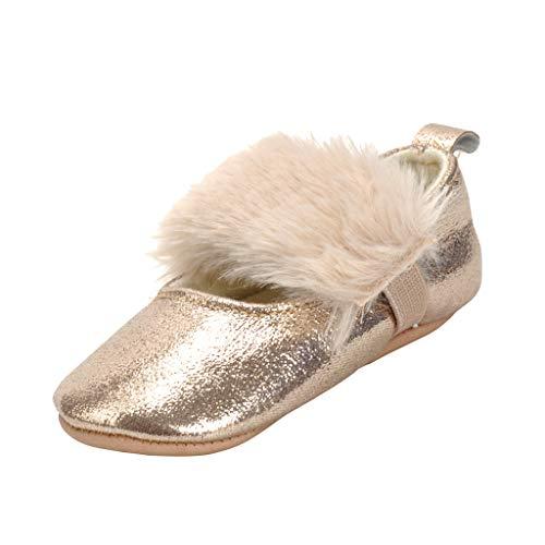 Zapato de Bebe de Cuna Zapatos Antideslizantes Accesorio de Regalo de Mesa Comedor Viaje - como la imagen, 13cm para 9-12M