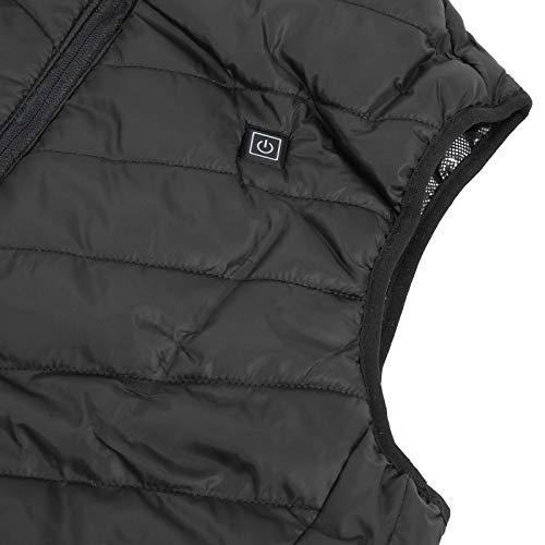 Chaleco calefactor eléctrico Abrigo de ropa de abrigo portátil para exteriores para salud(XXXL, Pisa Leaning Tower Type)