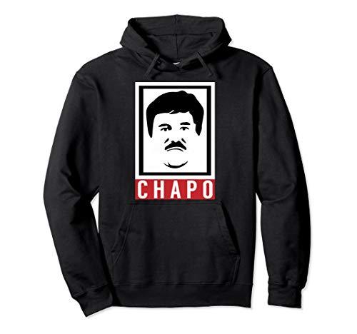 El Chapo Cartoon Mug Shot | Funny Men Women Pullover Hoodie