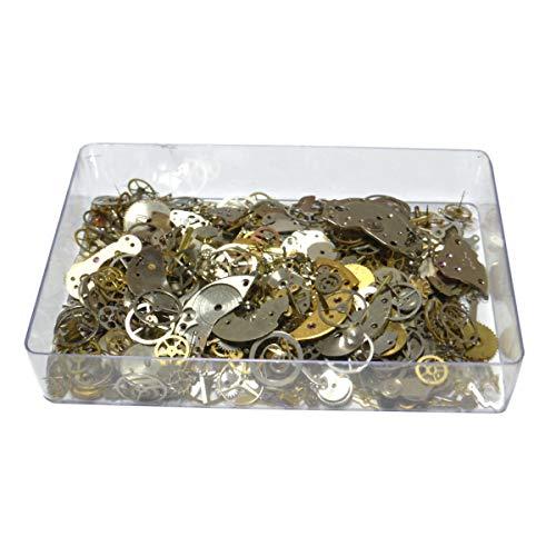 Pequeño conjunto de las piezas de repuesto para relojero