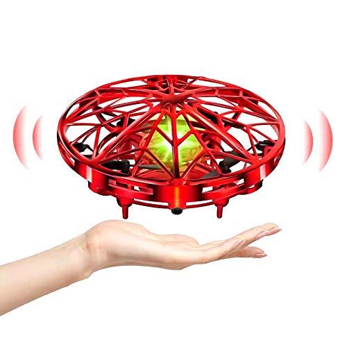 UTTORA Mini UFO Drone per Bambini e Adulti Sensore a Infrarossi Intelligente Ricarica USB...