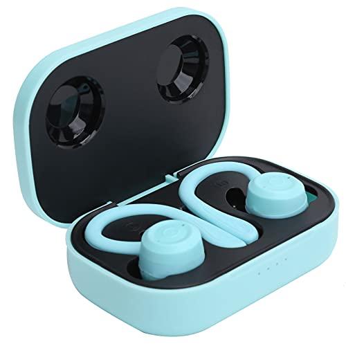 SONK Auriculares inalámbricos, Auriculares Deportivos Bluetooth 5.1 con Estuche de Carga Tipo C y Tapones para los oídos de Silicona Suave Auriculares de Ganchos para la Oreja Dos Tipos Diferentes