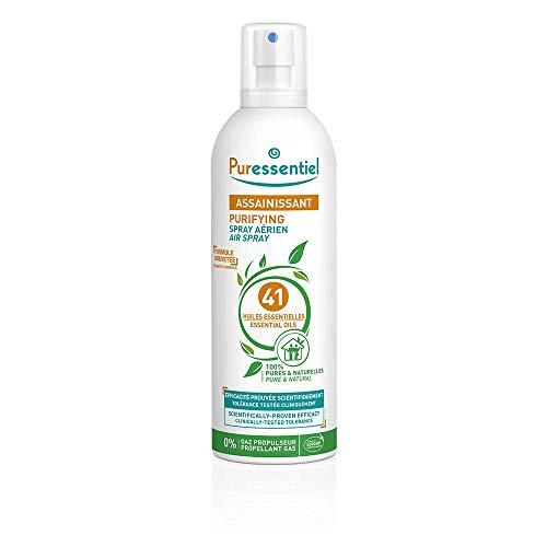 Puressentiel - Spray Aérien Assainissant aux 41 Huiles Essentielles - Efficacité prouvée contre les virus, germes et bactéries - 500ml