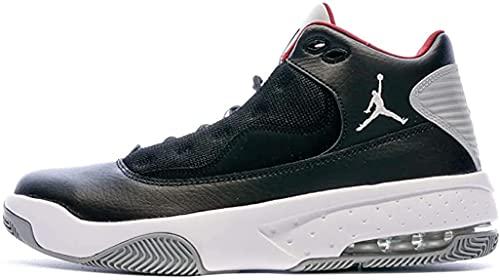 Nike Jordan Max Aura 2 - Black/Gym red-White-Wolf Grey, Größe:11