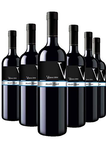 Vipava 1894 Rotwein PINOT NOIR (MODRI PINOT) Prestige, von Hand gelesener trockener roter Wein (6 x 0,75 l)