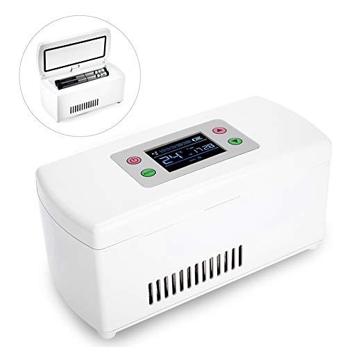 Medikamentenkühlschrank, tragbarer Multifunktions Kühlkoffer zur Aufrechterhaltung der konstanten Arzneimitteltemperatur Ideal für Reisen oder den Heimgebrauch