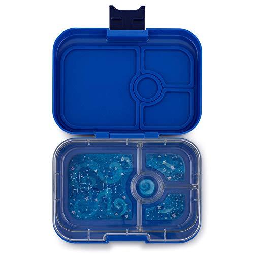 Yumbox Panino, fiambrera hermética con 4 compartimentos, Neptune Blue