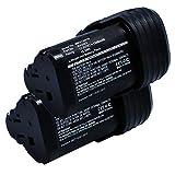 subtel® 2X Batteria WA3503, WA3505, WA3509 per Worx WX128, WX382, WX126,WX382.3, WX125, WX540.3, WX540 Batteria di Ricambio da 1500mAh Li Ion Affidabile Ricambio Sostituzione