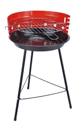 Pique-Nique Barbecue Ø 33,5 cm avec de la Rouille - Idéal pour Les Petits balcons!