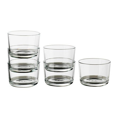 IKEA Glas 365+ niedrig 180 ml Set 6 Stück