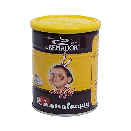 Passalacqua caffè macinato Cremador in barattolo da 250gr