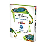 Hammermill Cardstock, Premium Color Copy, 32 lb, 11' x 17'-1 Pack (500 Sheets) - 100 Bright, Made in the USA Card Stock, 120024R