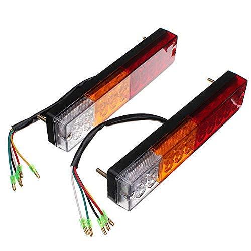 ARTFFEL LED barco ATV remolque Stop trasero trasero freno Lite indicador de luz estable