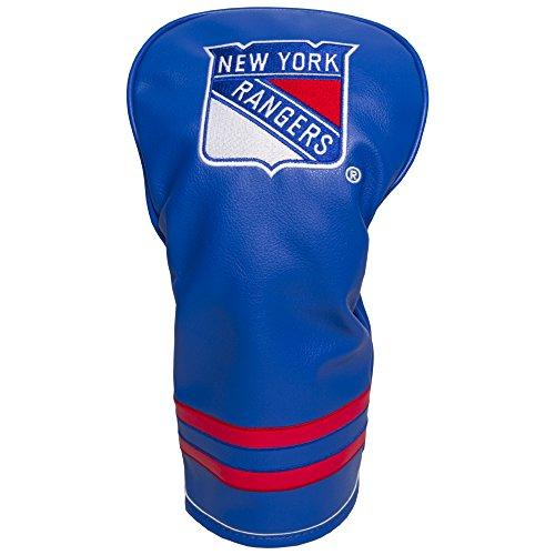 Team Golf NHL New York Rangers Vintage Driver Golf Club Headcover, Form Fitting Design, Retro Design & Superb Embroidery
