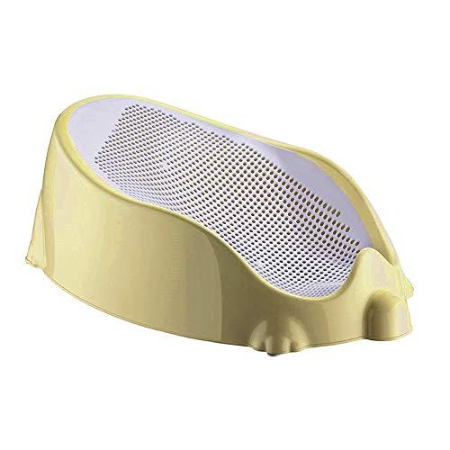 Multifunktionaler Schalensitz für die Wanne Babysitz für Babys, Badewanne (Gelb)