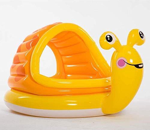 SYue Schwimmbad, Familienbecken Kinderbaden Baby-Spielbecken, Spielzeug aufblasbar Schwimmen Runde Sonnenschirm Pool