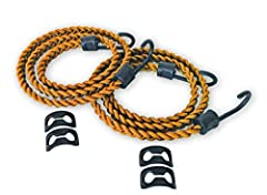 """Material: 3/16"""" Shock Cord Tensile Strength: 900 lbs Rested Length: 4 Feet PackTach Load Force:50 Lbs Stretched Length: 8 Feet"""