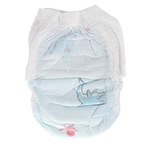 Nannday Einweg-Babyschwimmhose, 5 STK. wasserdichte elastische auslaufsichere Baby-Jungen-Mädchenwindel für Neugeborenenschwimmen(XL)