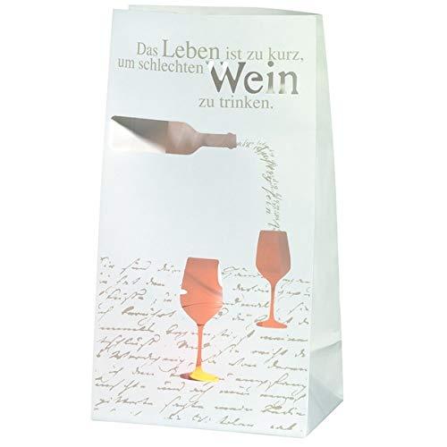 Räder Lichttüte Vino Set 2 Stck. Wein