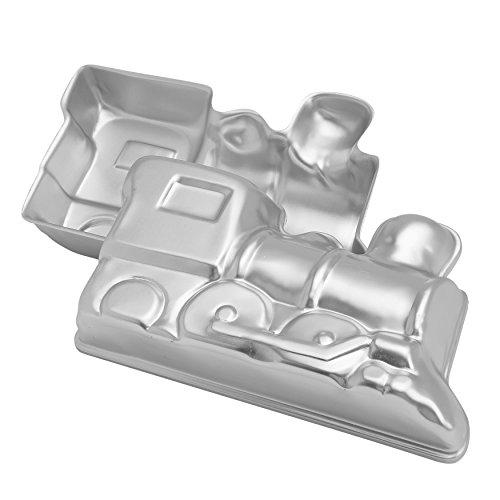 Wilton 2105-2861 Kuchenbackform Zug, Aluminium, 3D, 2-Teilig