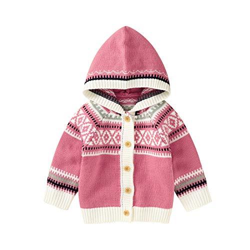 North edge Chaqueta para bebé con capucha para recién nacido, para niña,...