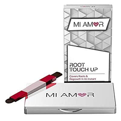 Premium Root Touch Up - Mi Amor - Fast and Easy Way to Cover Roots and Extend Time Between Salon Trips - Water-resistant