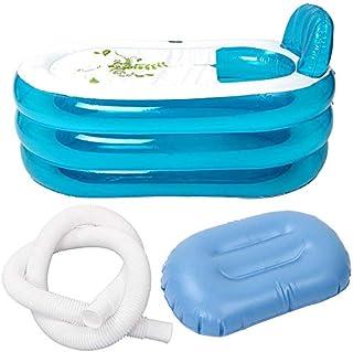 Mmw Baignoire Gonflable Portable Pour Adulte Et Enfant Cuisines Et Salles De Bain Installations Salles De Bain