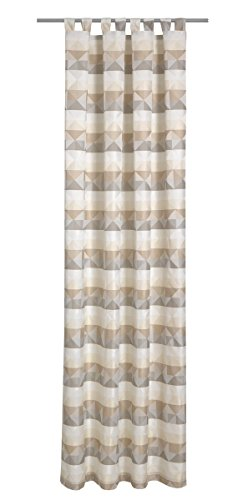 Deko Trends Epoca 623676778Passanti, Tessuto, 245,0x 146,0x 245,0cm, Colore: Bianco/Beige/Taupe