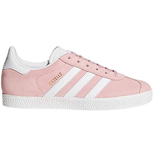 Adidas Gazelle Negras,Rojas,Azules,Rosas para Mujer. Zapatillas Deportivas, Sneaker,Tenis. (37 EU, Icey Pink/White)