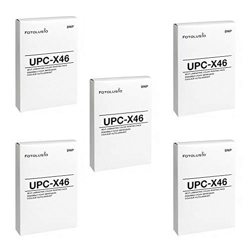 5 Packs DNP Fotolusio UPC-X46 / DNP UPCX46 Color Print Pack