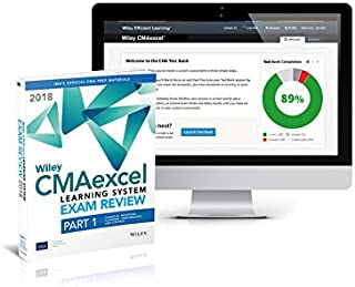 Wiley CMAexcel Learning System Exam Review 2018: Part 1, Financial Planning, Performance and Control Set (1–year access)