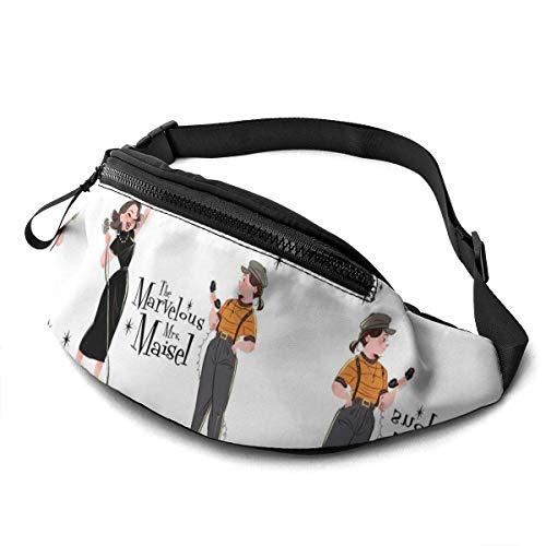 Wondihao The Marvelous Mrs. Maisel, lässige Hüfttasche, Fitnessgürteltasche, Tasche, Tasche für Männer, Frauen, Kinder, Teenager