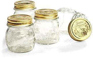Bormioli Rocco Quattro Stagioni 8-1/2-Ounce 4-Piece Canning Jar Set, Gift Boxed (B000WO4DOI) | Amazon price tracker / tracking, Amazon price history charts, Amazon price watches, Amazon price drop alerts