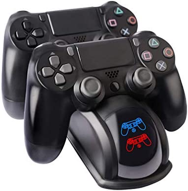Controller Chargerfor PS4 Dual USB PS4 Controller Charging Station Dock for Sony Playstation4 product image
