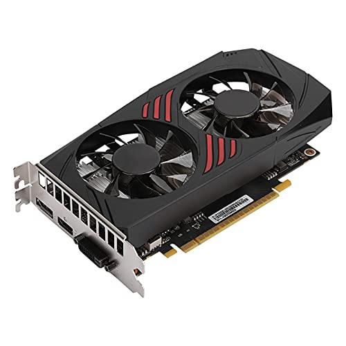 Vbestlife1 para GeForce GTX 1050Ti 4G GDDR5 128bit Tarjeta gráfica de Juego (GV-N105TOC-4GD) 1290 / 1392MHZ Ventilador de refrigeración Doble