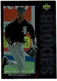 Michael Jordan NBA HOF Chicago White Sox 1994 Upper Deck ELECTRIC DIAMOND #19 MLB Baseball Card (Box213MP)