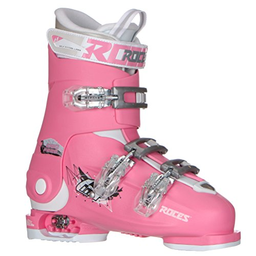 Roces Idea Free G Girls Ski Boots - 22-25/Deep Pink