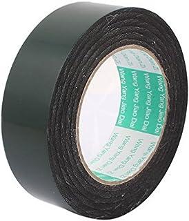 35mm x 0.5mm Black Dual Sided Self Adhesive Sponge Foam Tape 10M Length by MariaP