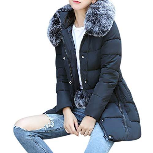 Dames winterparka lange vrije tijd oversize dikke Chic Sports Warm open haard step met kap bontjes Elegant Mode eenkleurig ruwe pasvorm overgangskleding outdoor kleding